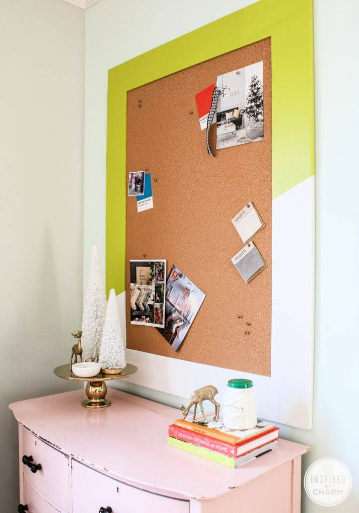 Easy DIY Colorful Bulletin Board