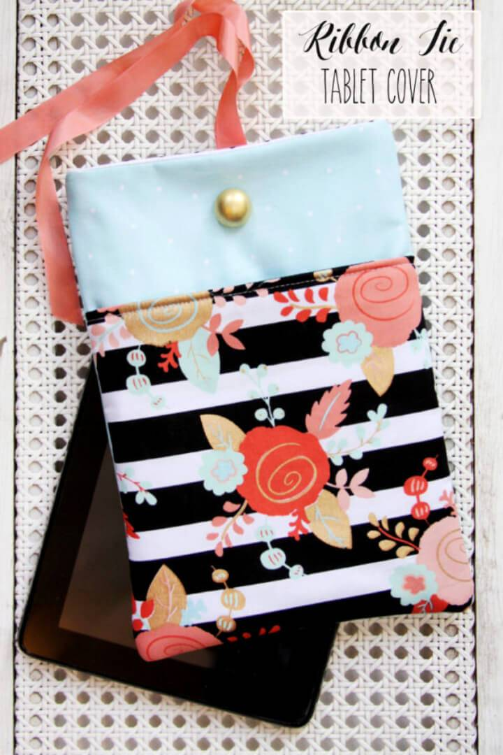 Easy to Make Fabric Tablet Cover
