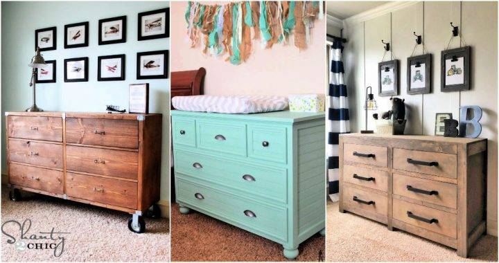 Free DIY Dresser Plans with Extra Storage