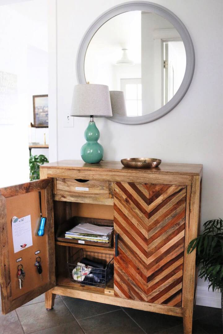 Free Standing Cabinet Command Center