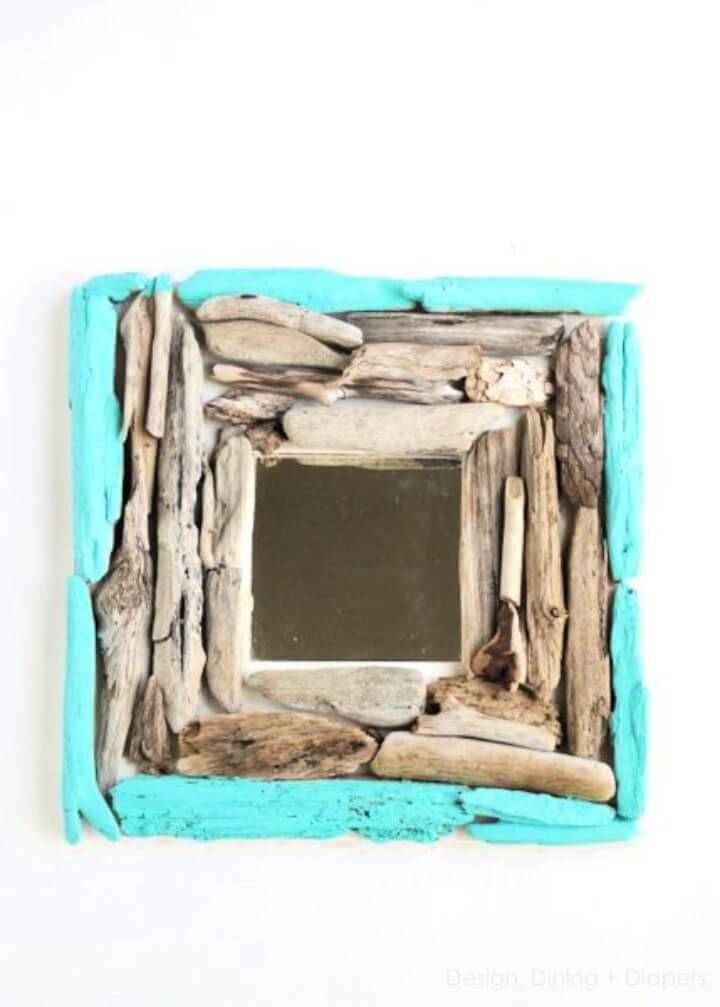 Fun Driftwood Mirror for The Nursery