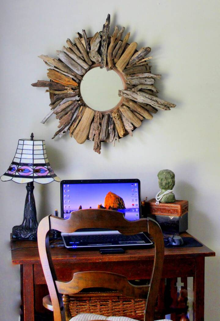 How to Create Drift Wood Mirror