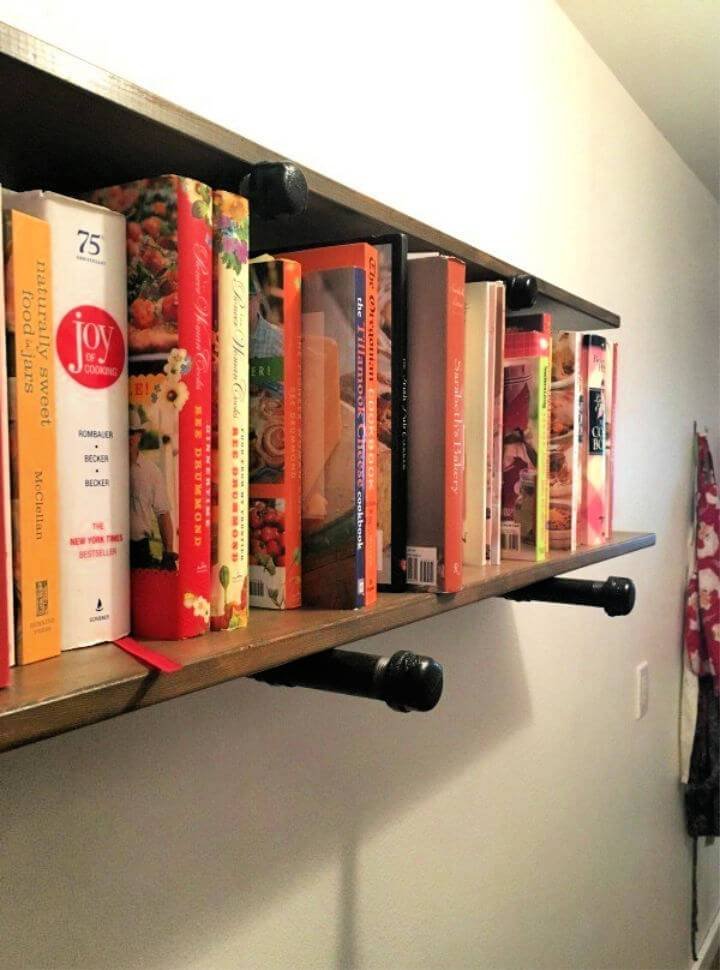 How to DIY Pipe Shelves