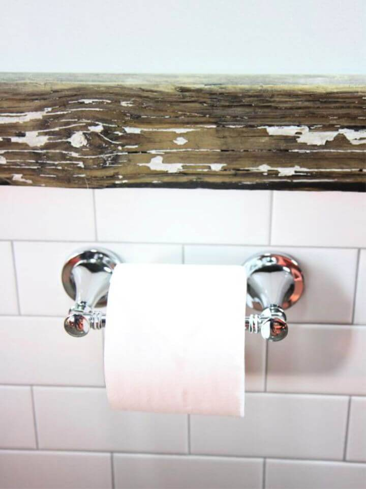 How to Install a Toilet Paper Holder in Tile