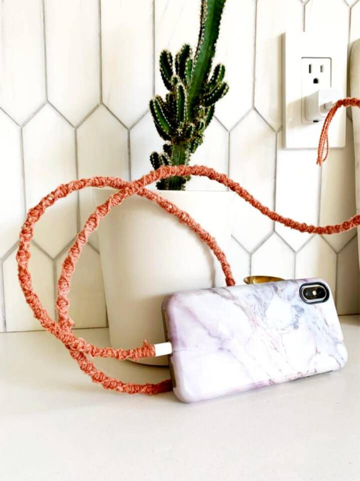 How to Macrame Charger Cord