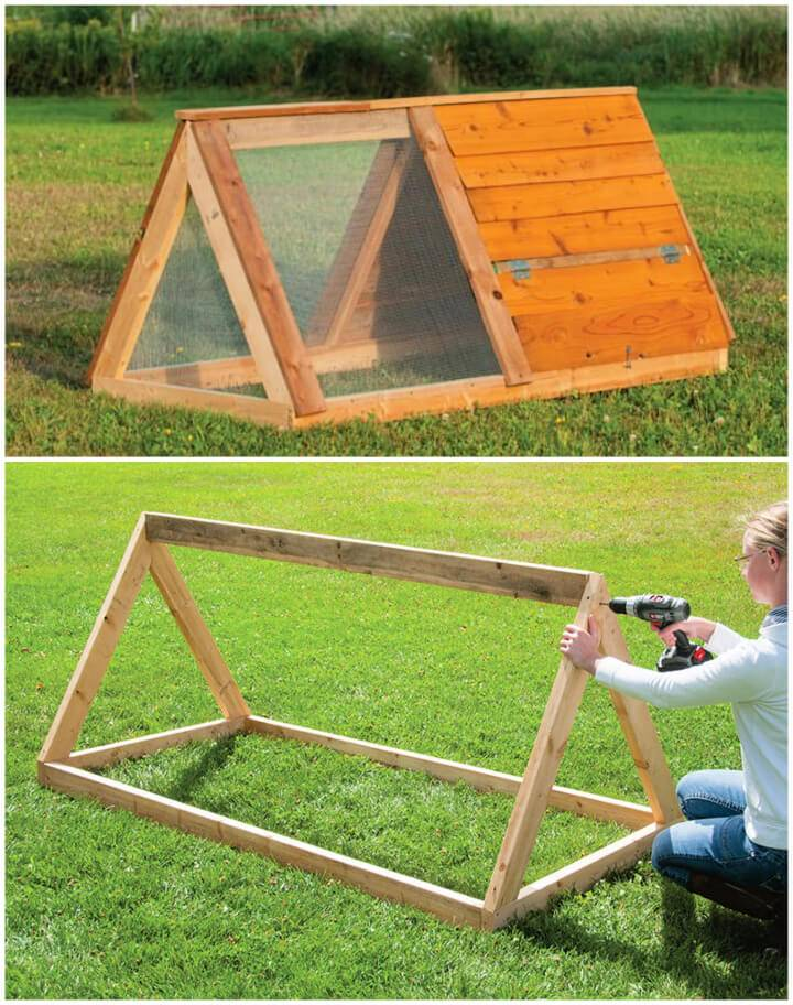How to Make Chicken Tractor