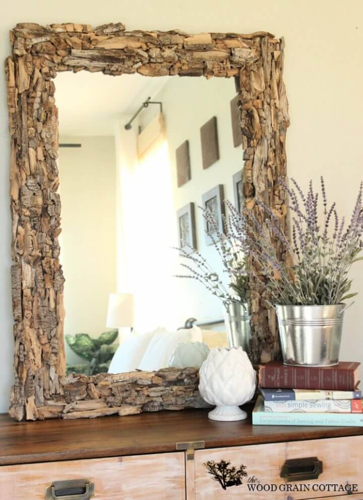 How to Make Driftwood Mirror
