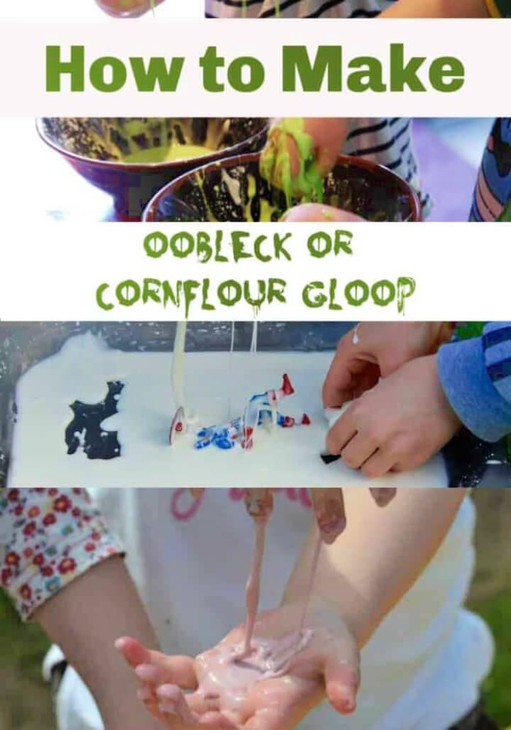 How to Make Oobleck Cornflour Gloop Or Slime