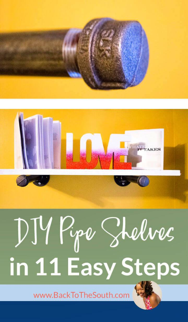 How to Make Pipe Shelves In 11 Easy Steps