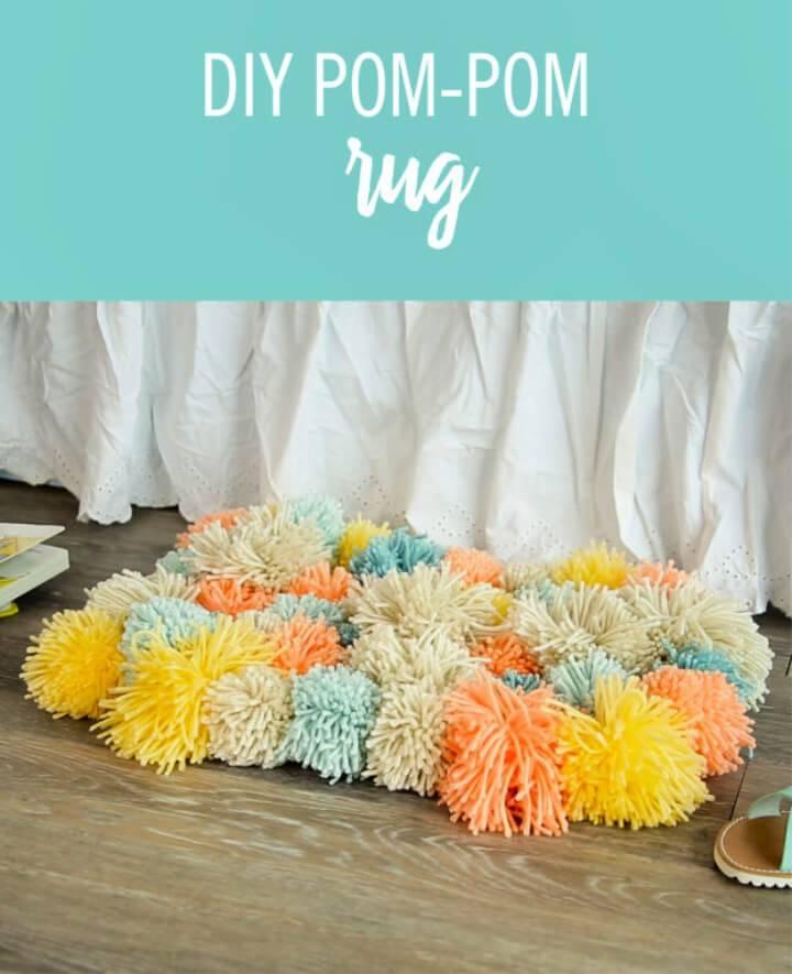 How to Make Pom Pom Rug