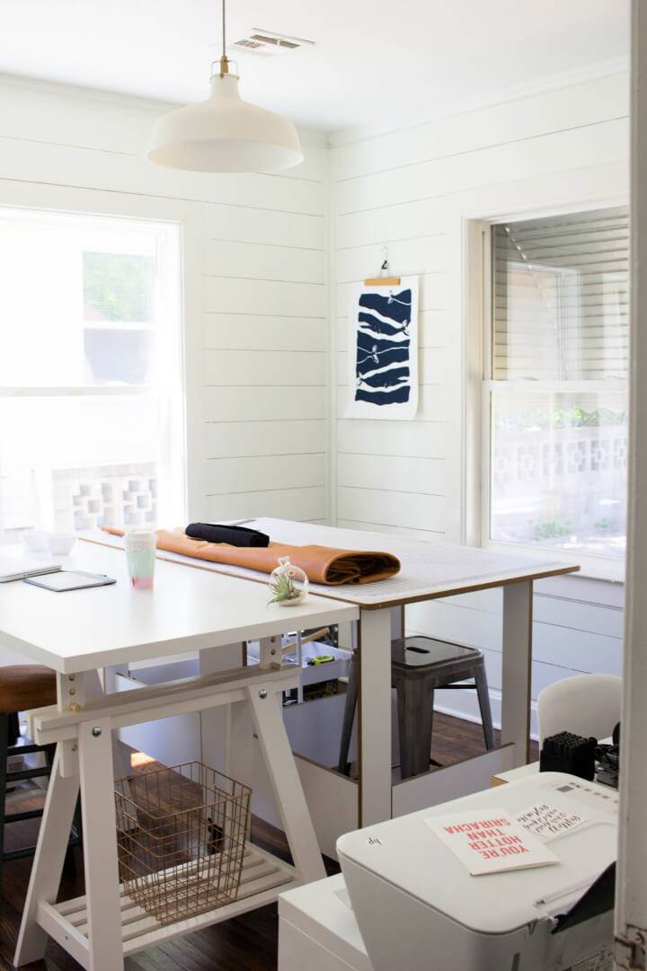 How to Shiplap a Room for Under 150