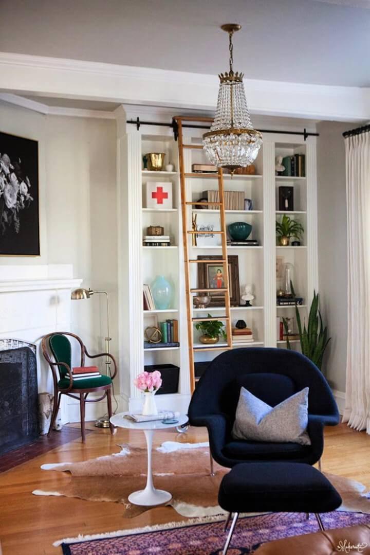 Ikea Billy Bookshelves Hack Laura's Living Room