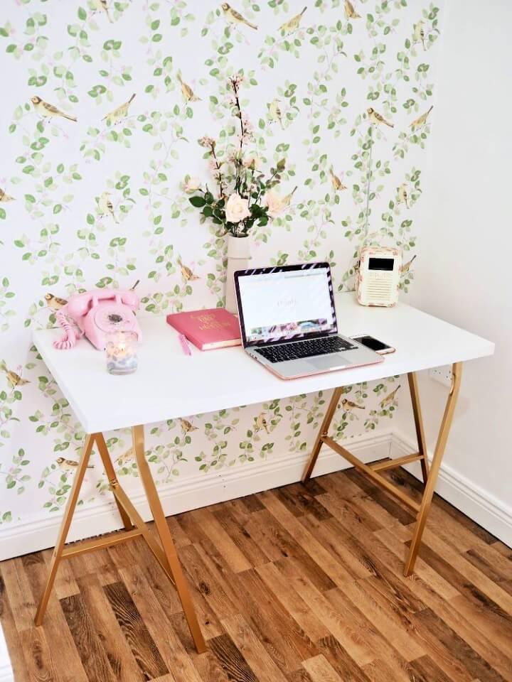 Ikea DIY Desk Hack