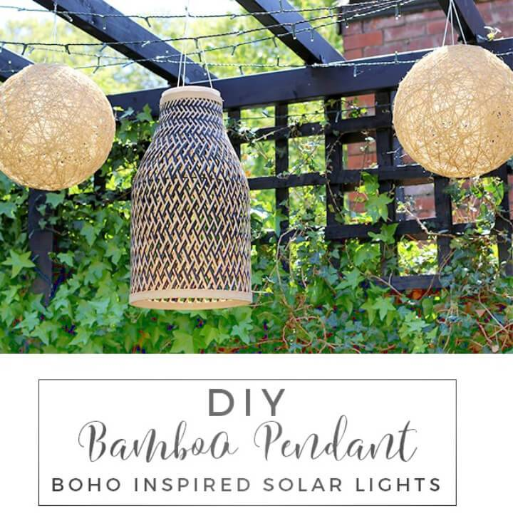Make Bamboo Solar Lights