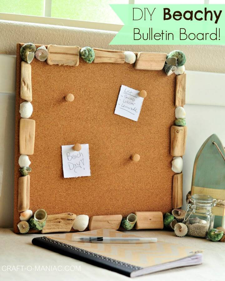 Make Beachy Bulletin Board