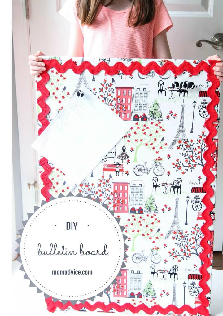 Make Fabric Bulletin Board