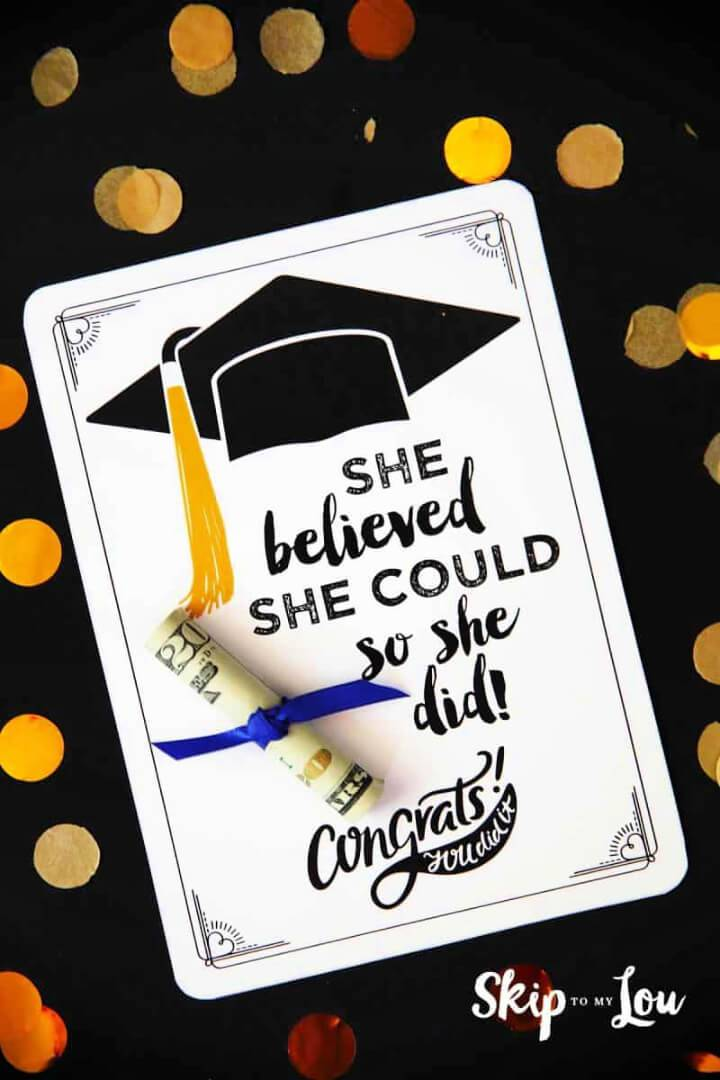 Make Graduation Cards with Positive Quotes