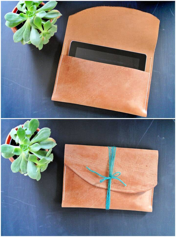 Make Leather Tablet Case