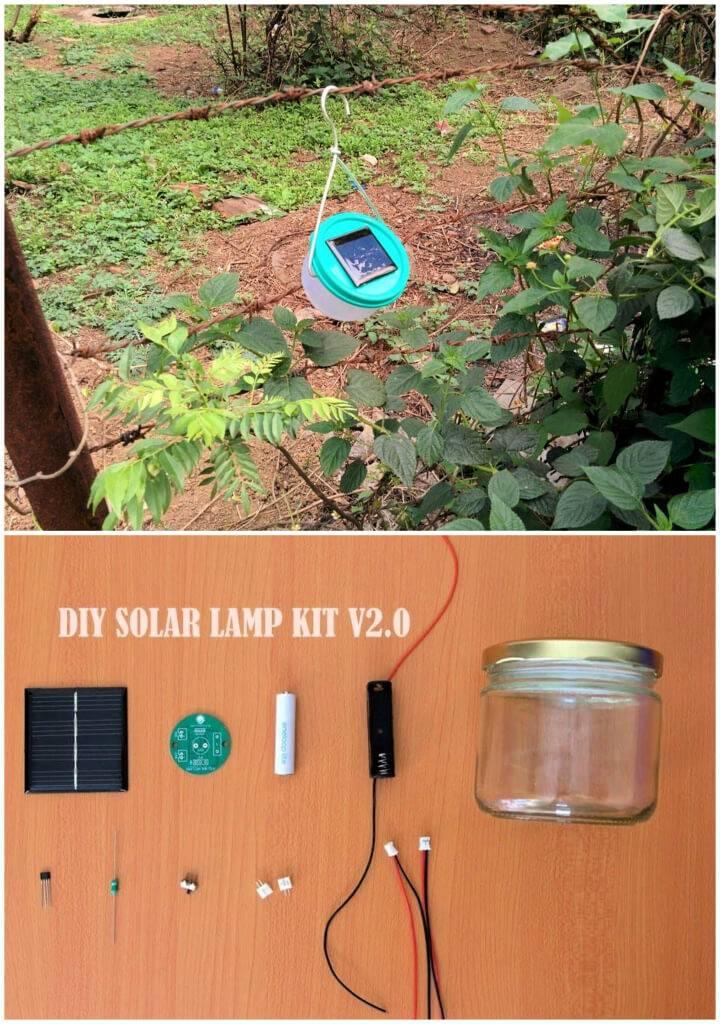 Make Nocturnal Solar Light Bulb