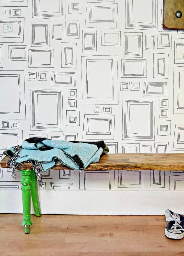 Make Unique Scaffolding Board Bench