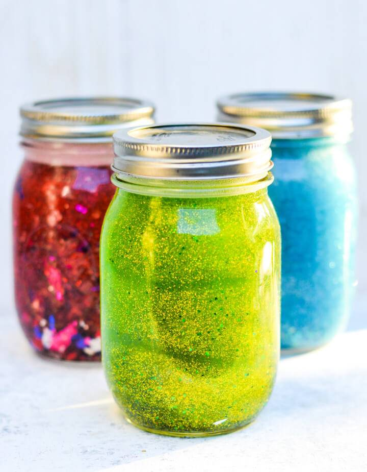 Make Your Own Calm Down Jars