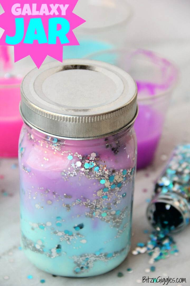 Make Your Own Galaxy Jar