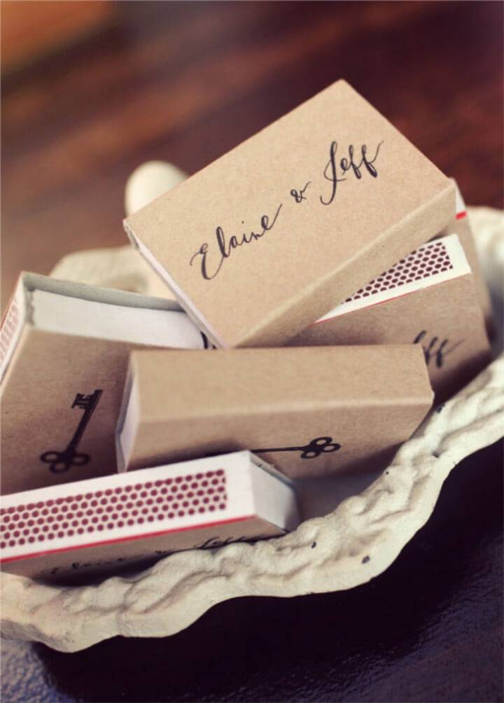 Make Your Own Matchbooks