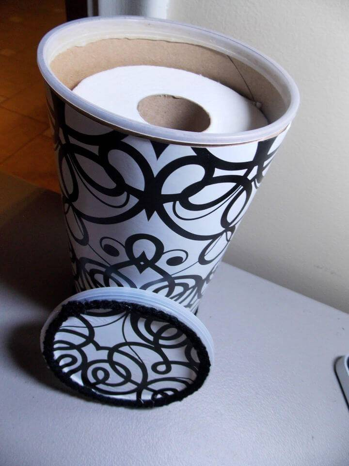 Make Your Own Toilet Paper Holder