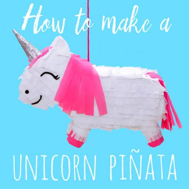Make Your Own Unicorn Piñata