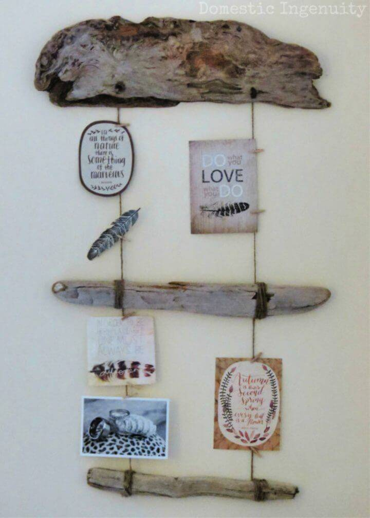 Make a Driftwood Picture Holder