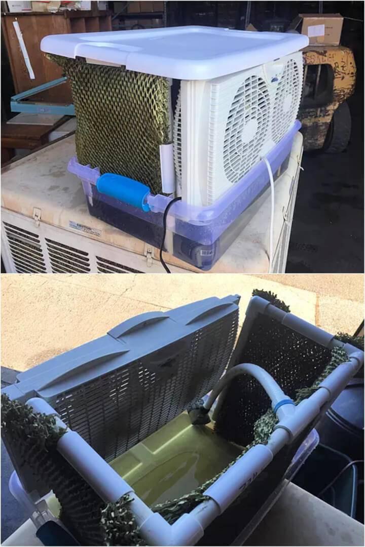 Make a PVC Swamp Cooler