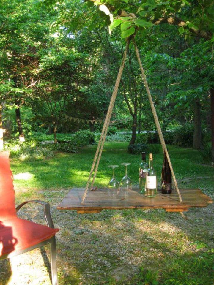 Outdoor Hanging Table