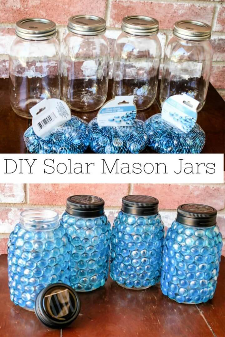 Outdoor Mason Jar Solar Lights