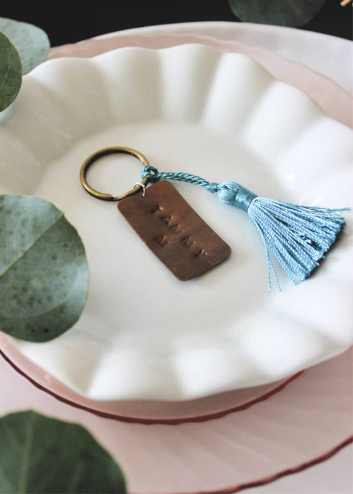 Personalized Keychain Wedding Favors
