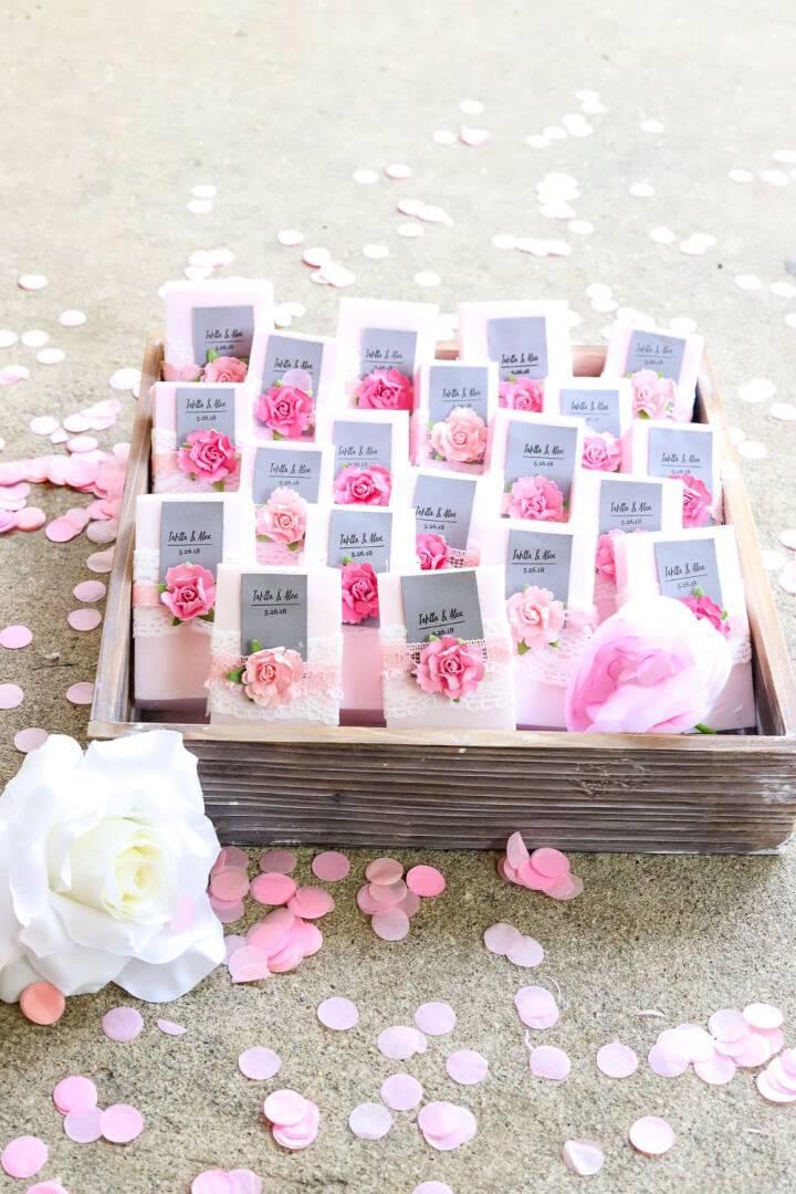 Personalized Soap Easy DIY Wedding Favor
