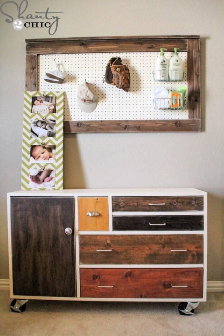 Pretty DIY Dresser on A Budget