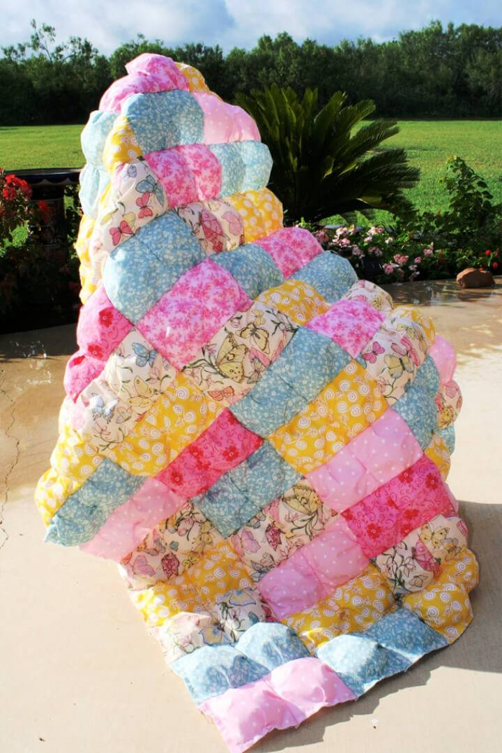 Puff or Biscuit Quilt Pattern