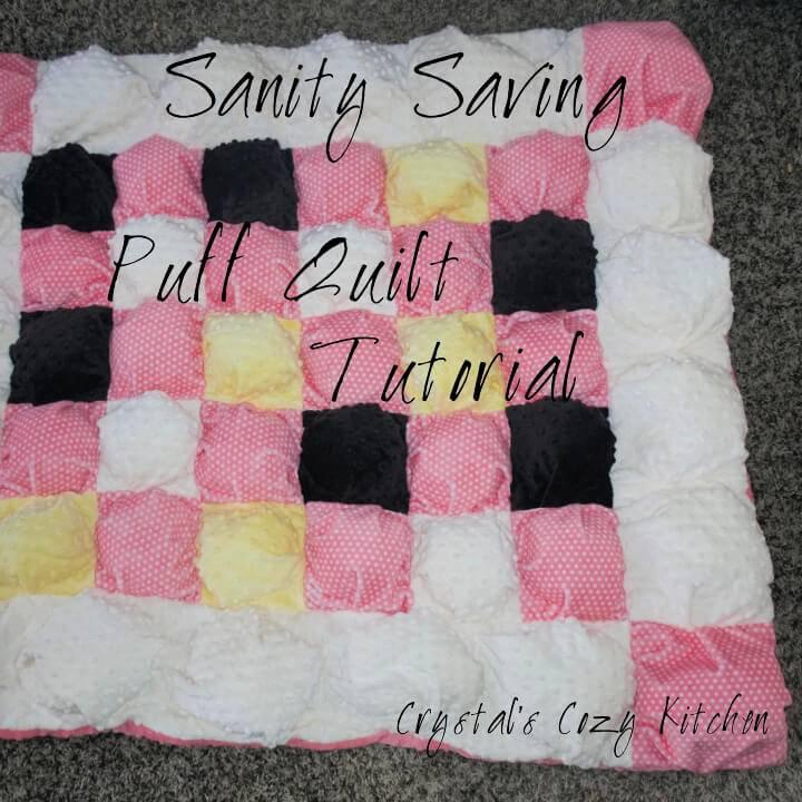 Sanity Saving Puff Quilt Pattern