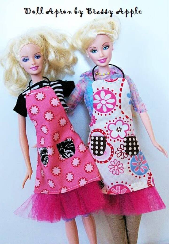 Sew Itty Bitty Apron for Barbie