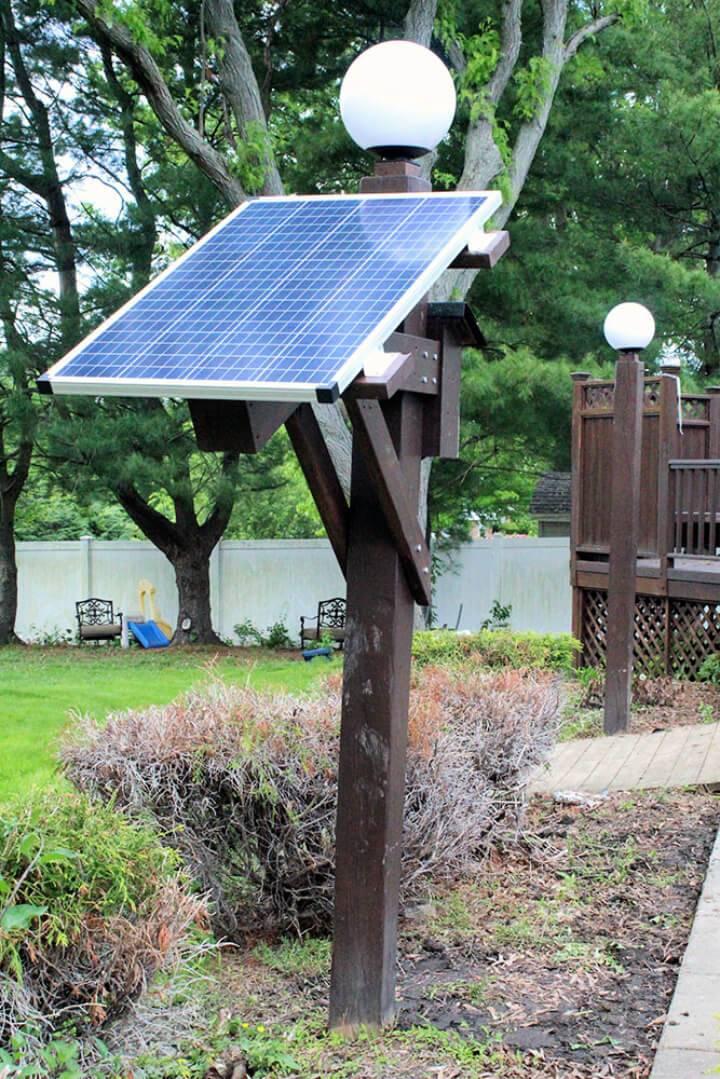 Solar Power Outdoor Lights