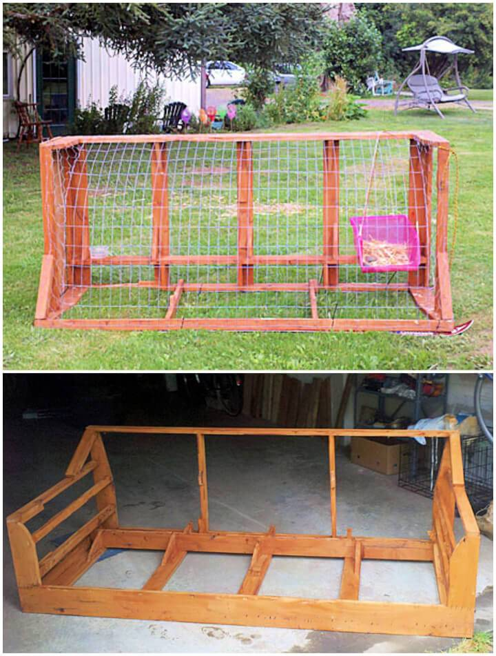 Upcycle Furniture Into a Chicken Tractor