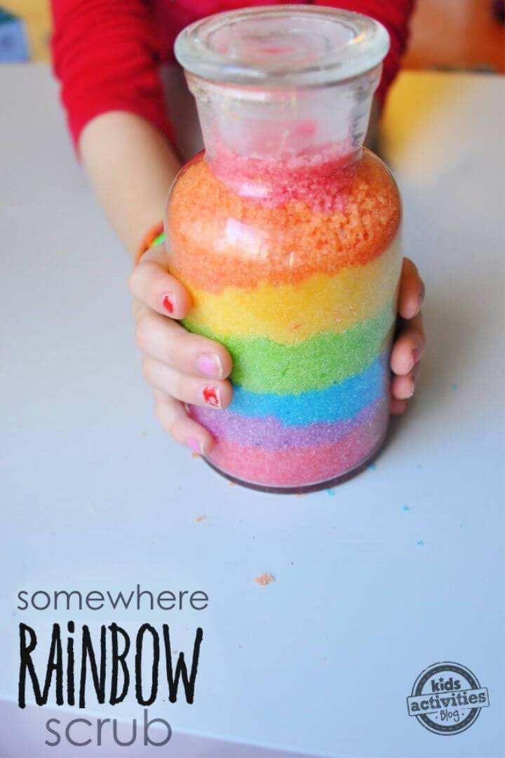 Whimiscal Rainbow Sugar Scrub