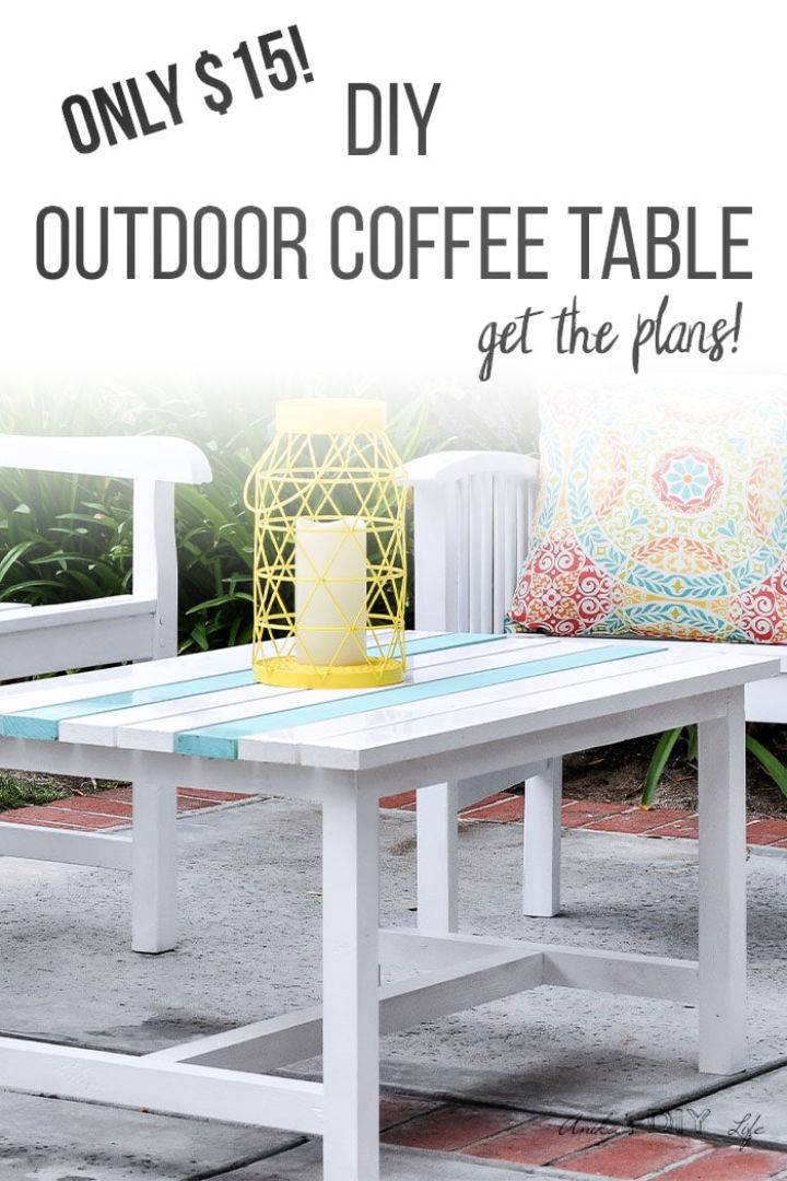 15 Outdoor Coffee Table