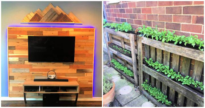 25 Unique Pallet Wood Ideas To Reuse Old Pallets