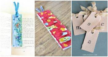 40 Cute DIY Bookmarks Design Ideas