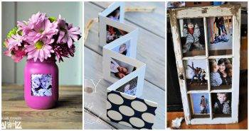 70 DIY Picture Frame Ideas To Make Without Power Tools