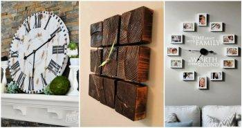 75 Best DIY Clock Ideas To Make Your Own Custom Clocks