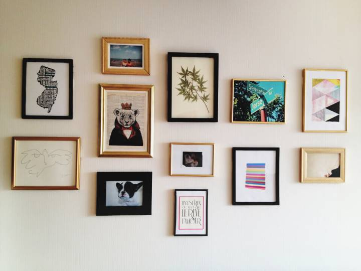 Adorable Gallery Wall Pictures