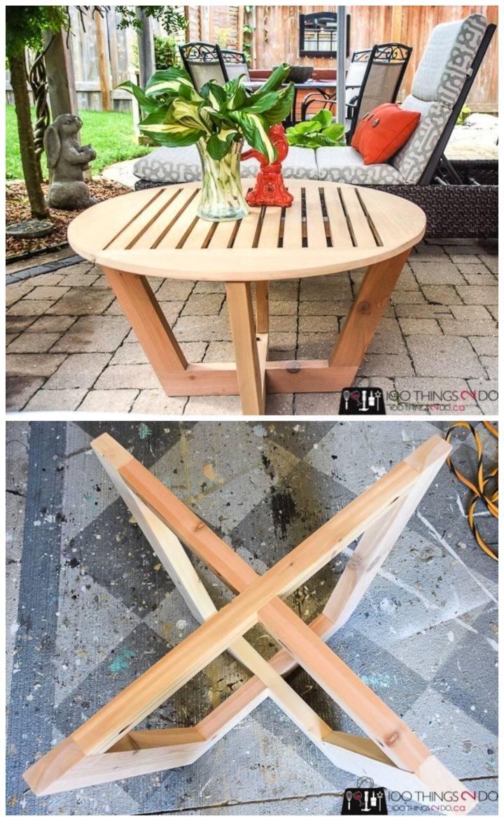 Amazing Patio Coffee Table