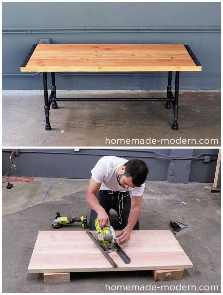 Budget friendly Pipe Coffee Table
